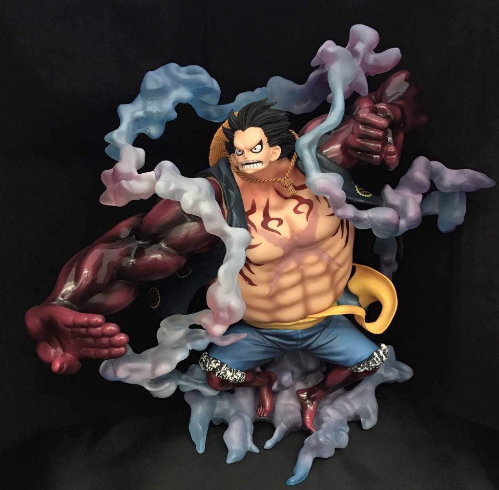 figurine luffy gear 4 pop edition limit e mugiwara shop. Black Bedroom Furniture Sets. Home Design Ideas